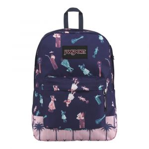 Mochila Jansport Superbreak Black label Life Palm